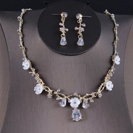 Ericdress Earrings Diamante Korean Jewelry Sets