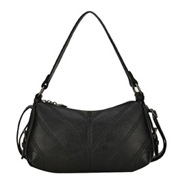 Ericdress Embossing PU Plain Shoulder Bags