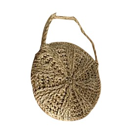 Ericdress Knitted Grass Circular Crossbody Bags