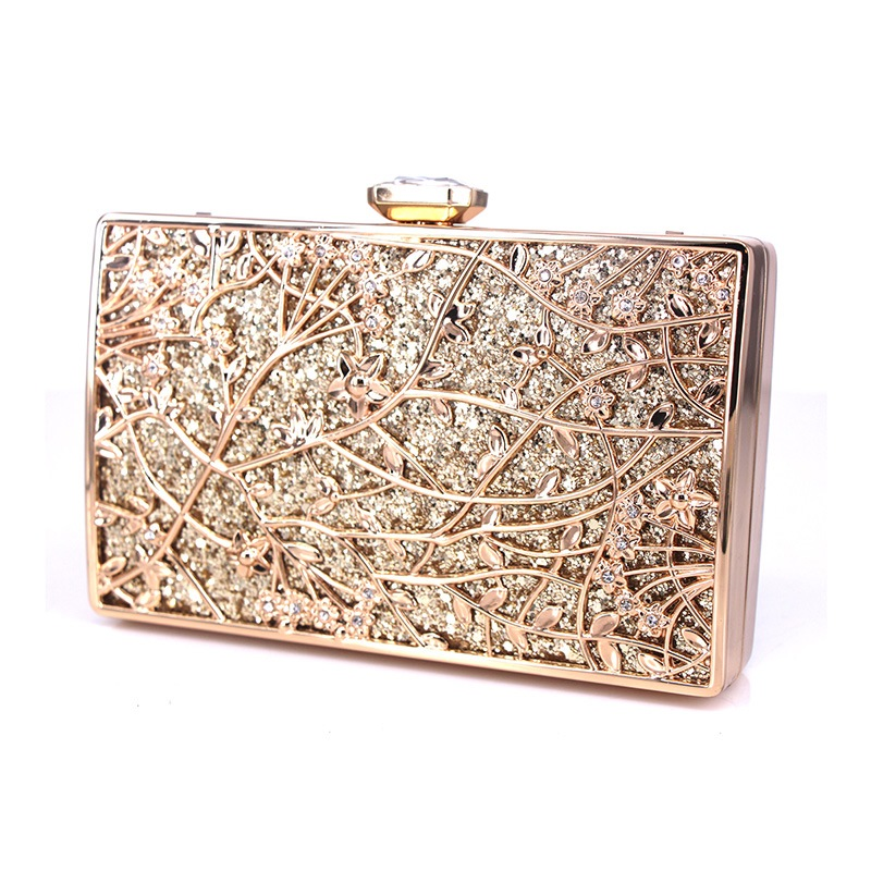 Ericdress Floral Sequins Clutches & Evening Bags