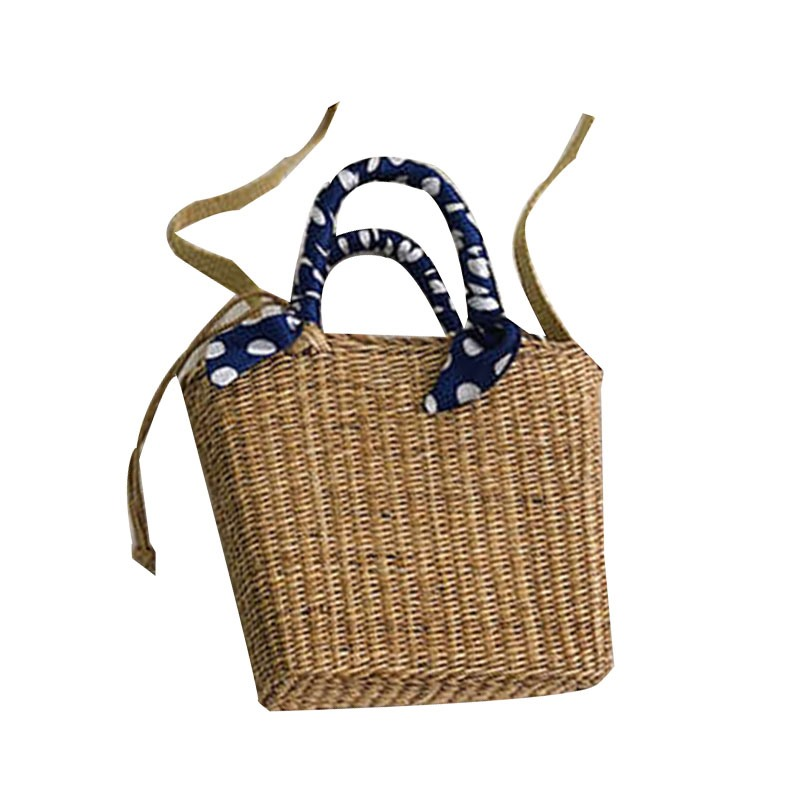 Ericdress Plain Grass Knitted Rectangle Handbags