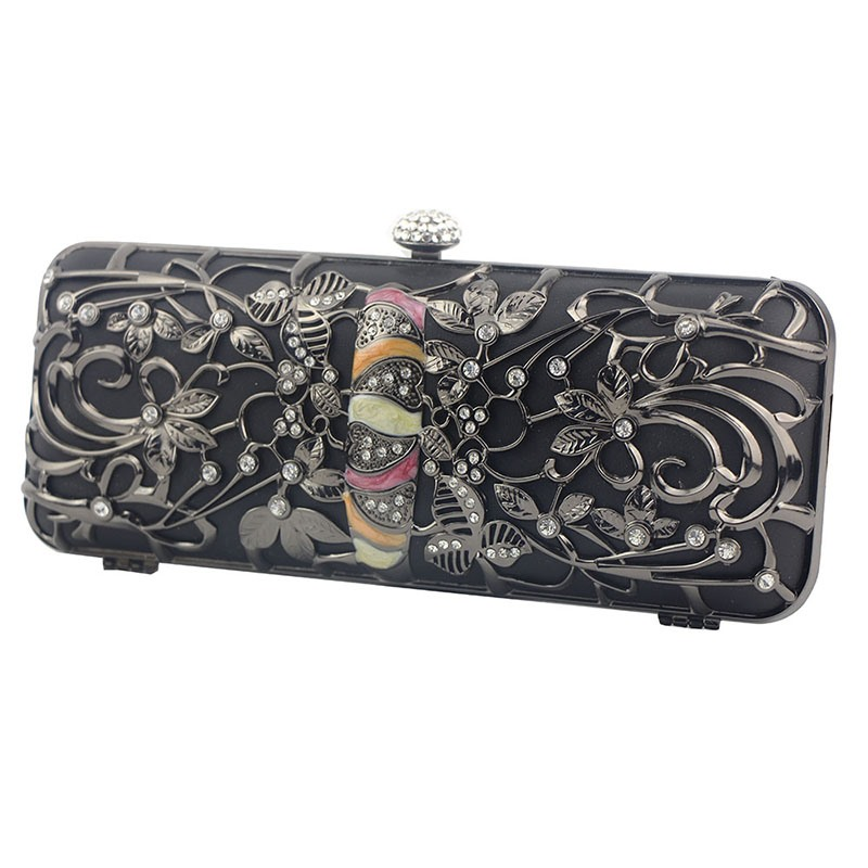 Ericdress Rectangle Versatile Rhinestone Clutches & Evening Bags