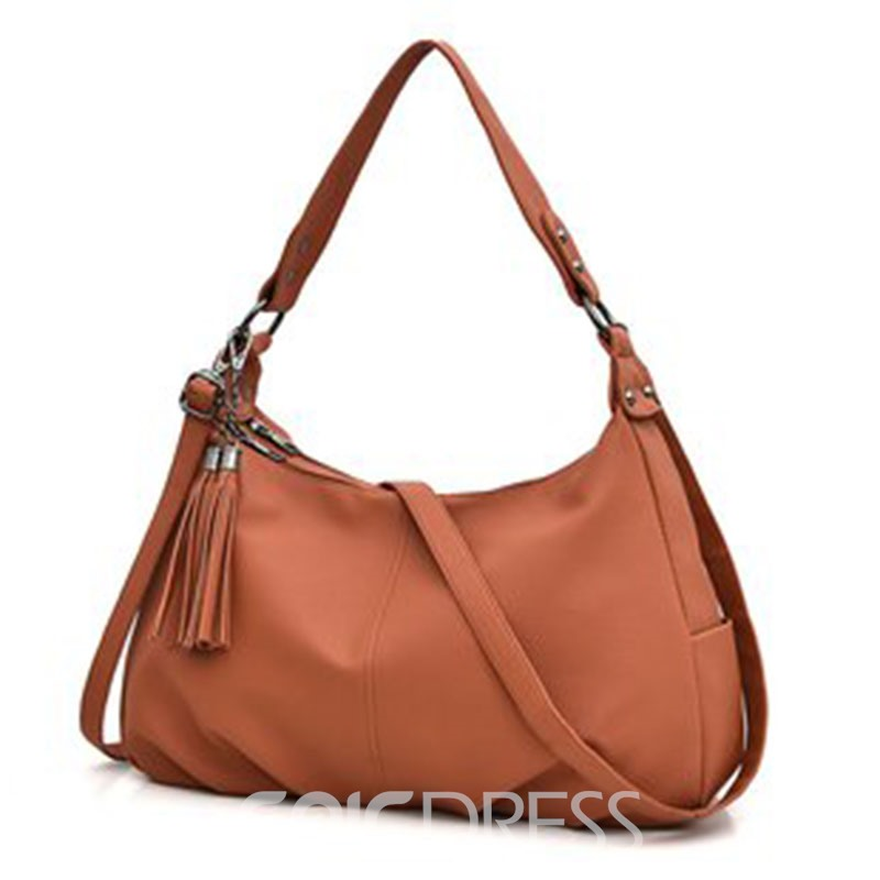 Ericdress Plain PU Plain Shoulder Bags