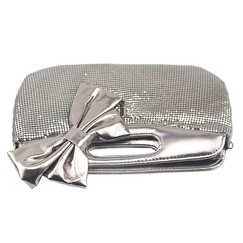 Ericdress Bowknot PU Clutches & Evening Bags
