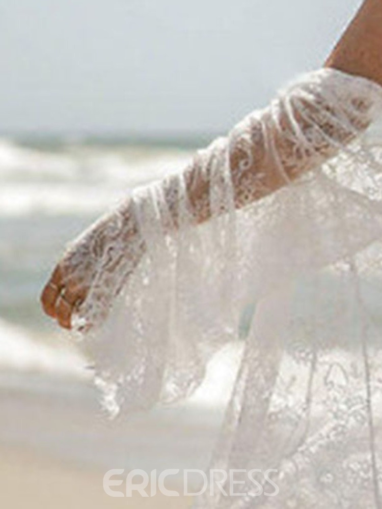 Ericdress See-Through Lace Beach Tops
