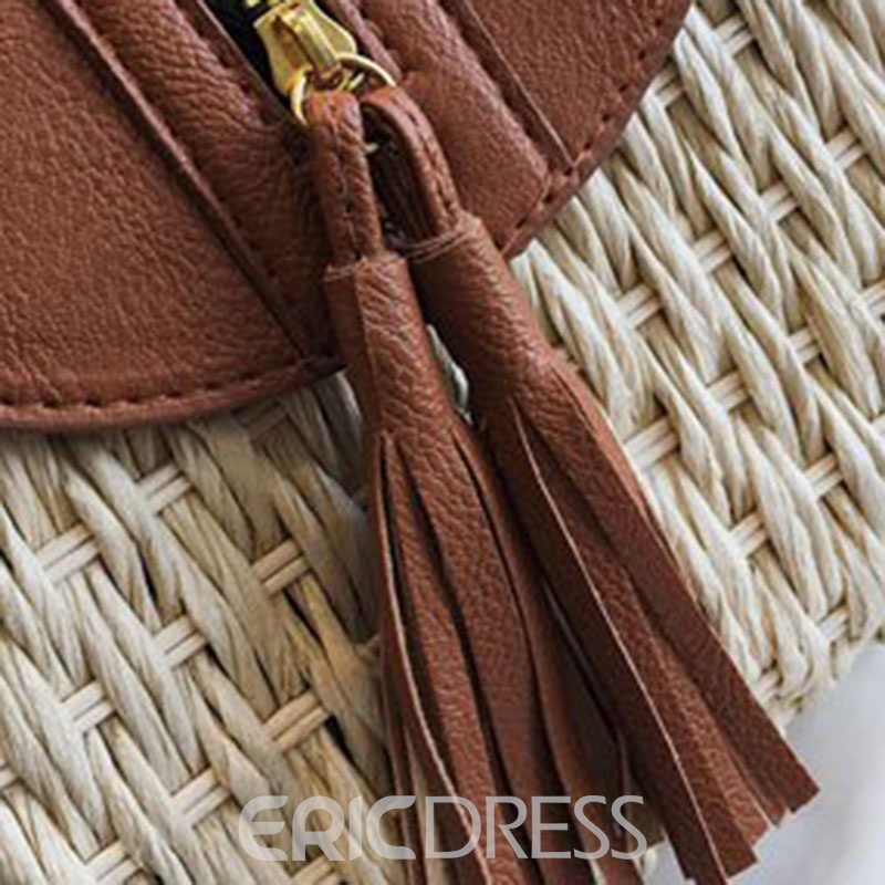 Ericdress Grass Tassel Crossbody Bags