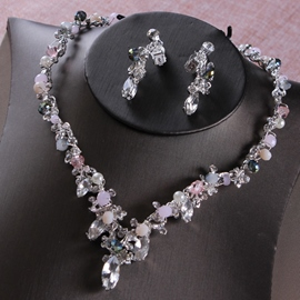 Ericdress E-Plating Korean Floral Jewelry Sets