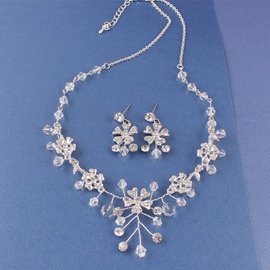 ericdress Ohrringe Blumen E-Plating Schmuck-Sets