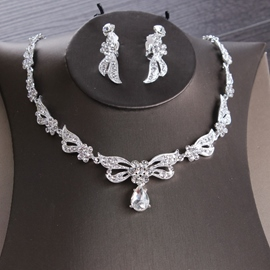 Ericdress Necklace Korean Floral Jewelry Sets