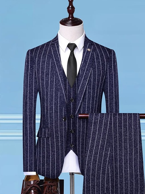Ericdress Button One Button Fashion Mens Dress Suit