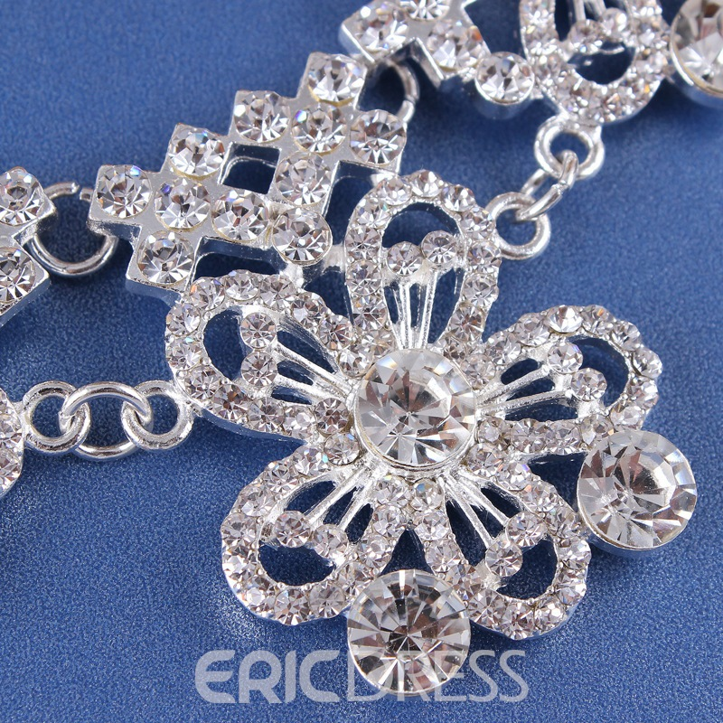 Ericdress European E-Plating Floral Jewelry Sets