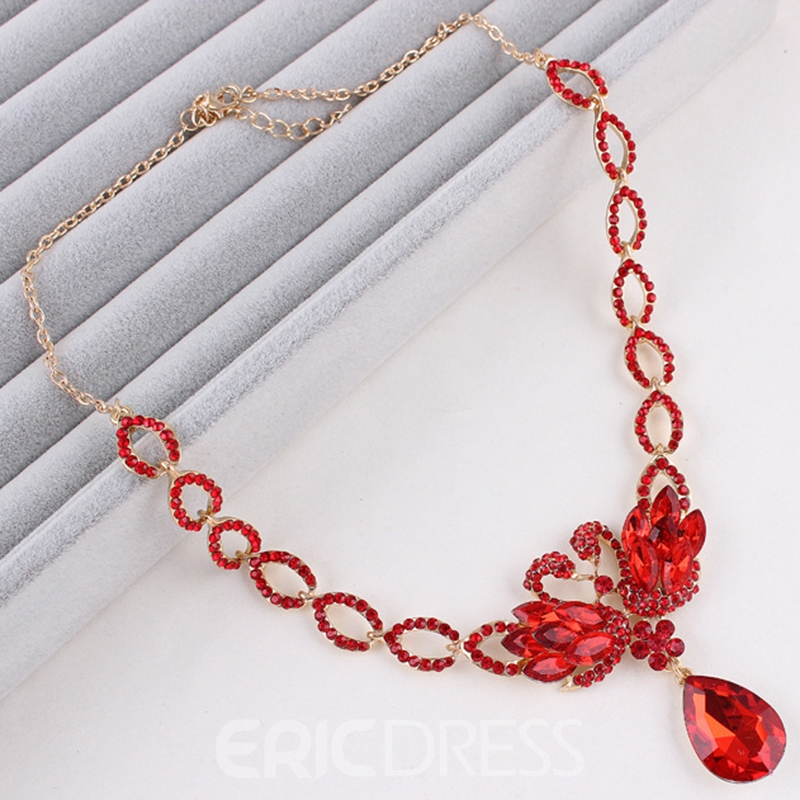 Ericdress Floral Korean Style Earrings Jewelry Sets