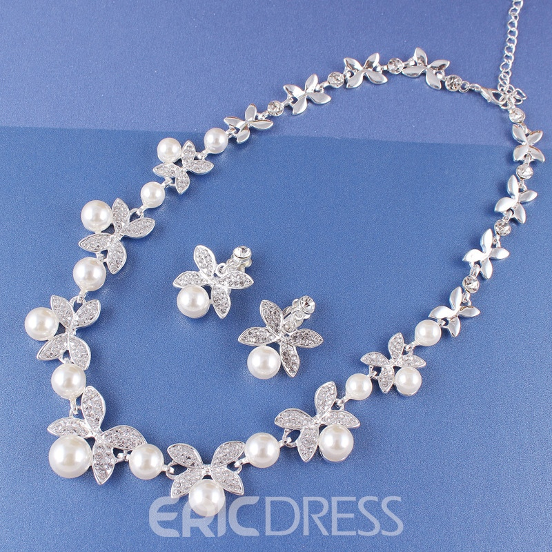 Ericdress Floral Korean Earrings Jewelry Sets
