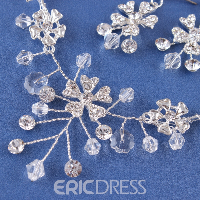 Ericdress Earrings Floral E-Plating Jewelry Sets