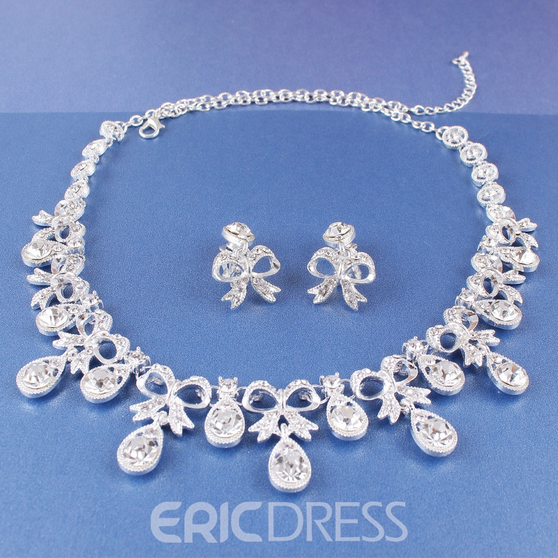 Ericdress Polka Dots Necklace E-Plating Jewelry Sets