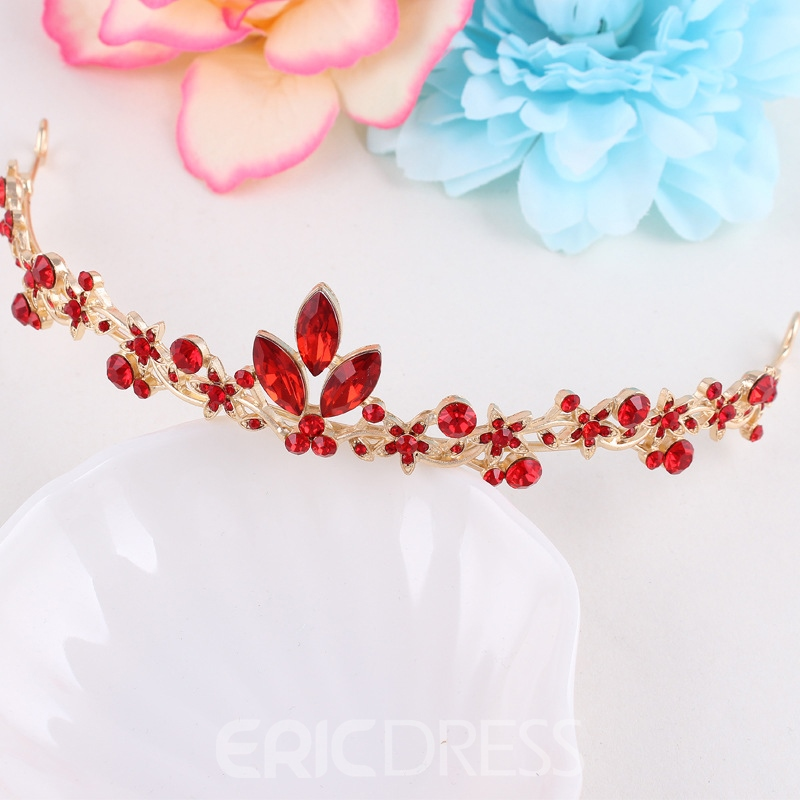 E-Plating Floral Ethnic Jewelry Sets (Wedding)