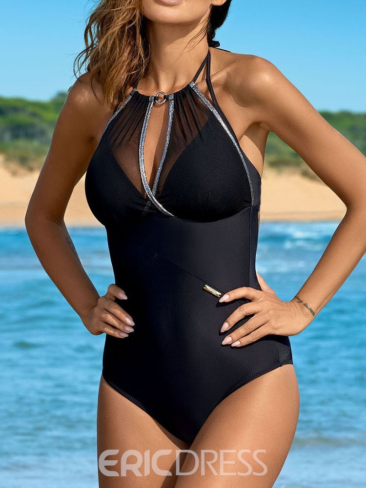 Ericdress Patchwork Sexy Swimwear