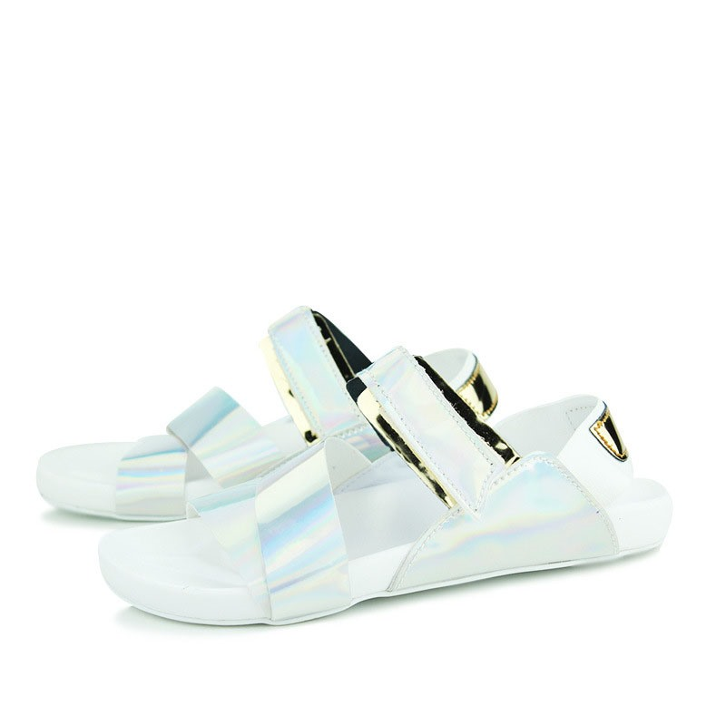 Ericdress PU Color Block Simple Men's Sandals