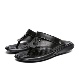 Ericdress Thong Simple Slip-On Men's Sandals