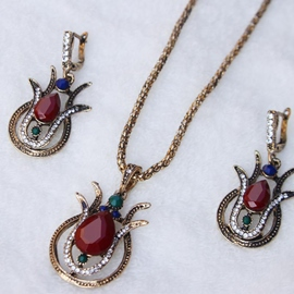 Ericdress Water Drop Vintage Earrings Jewelry Sets