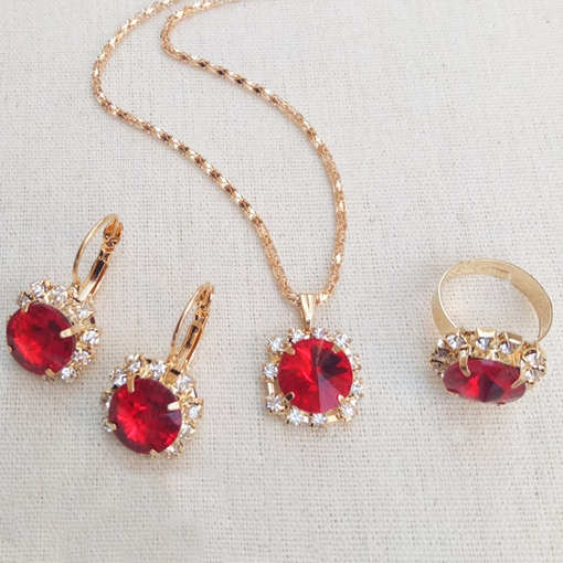 Ericdress Floral E-Plating Earrings Jewelry Sets