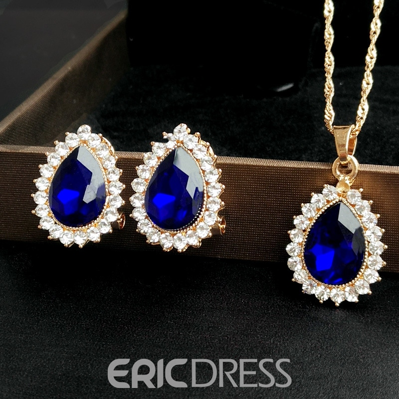 Ericdress Earrings Water Drop Jewelry Sets (Wedding)