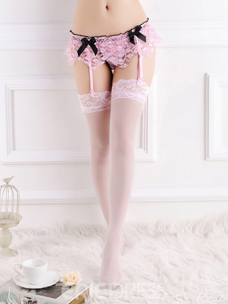 Ericdress Lace Lace Thigh-High Stocking Garters