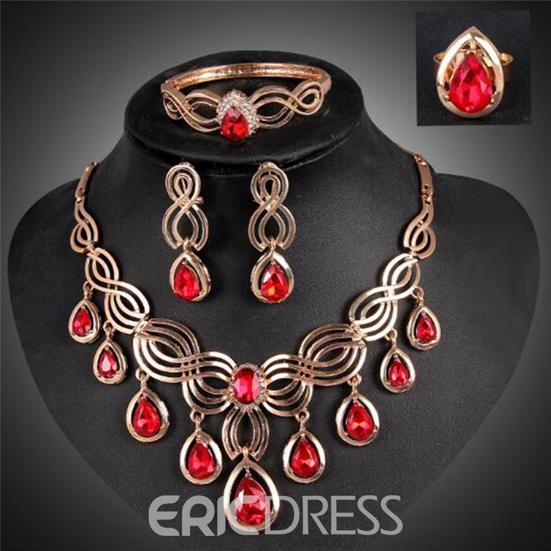 Ericdress Bohemian Water Drop E-Plating Jewelry Sets
