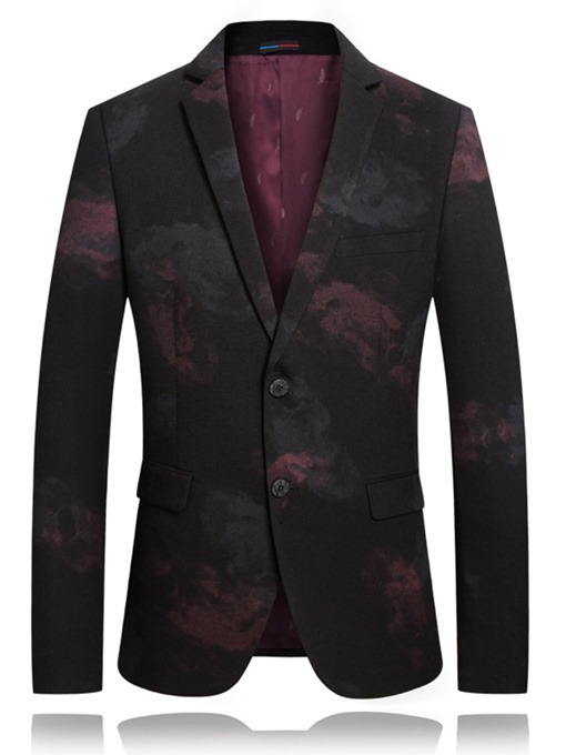 Ericdress Print Straight Casual Mens leisure Suit