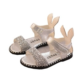 Ericdress Sequin Sweet Open Toe Baby's Sandals