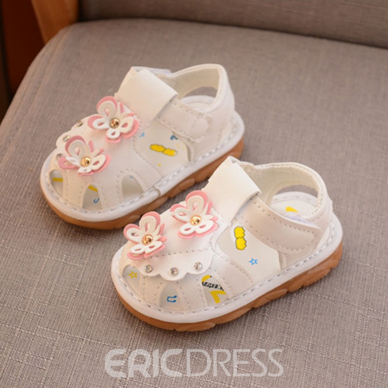 Ericdress Floral Hollow Baby Toddler Shoes