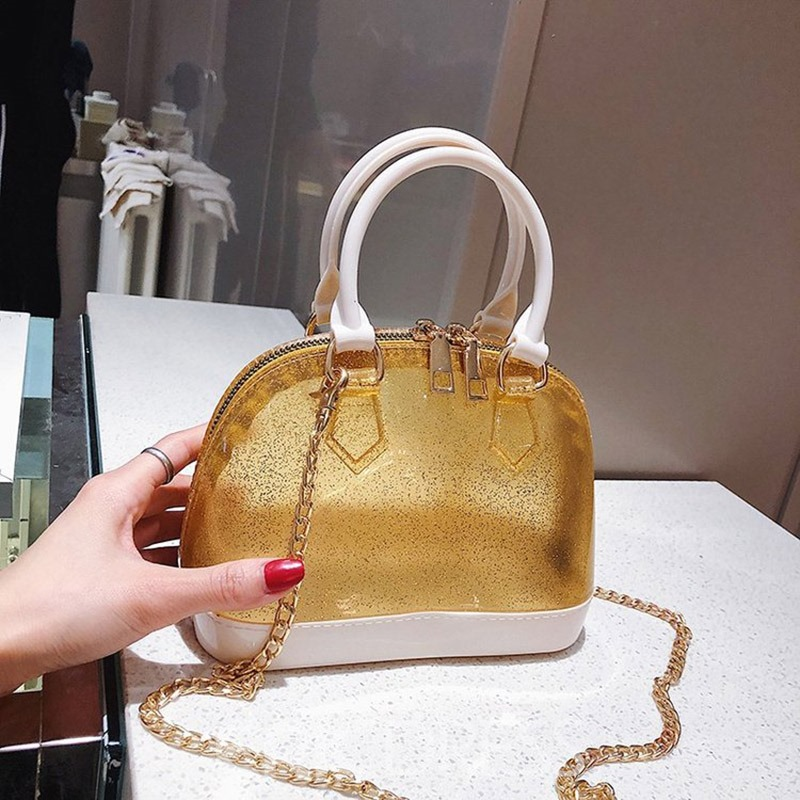 Ericdress Chain PU Shell Tote Bag