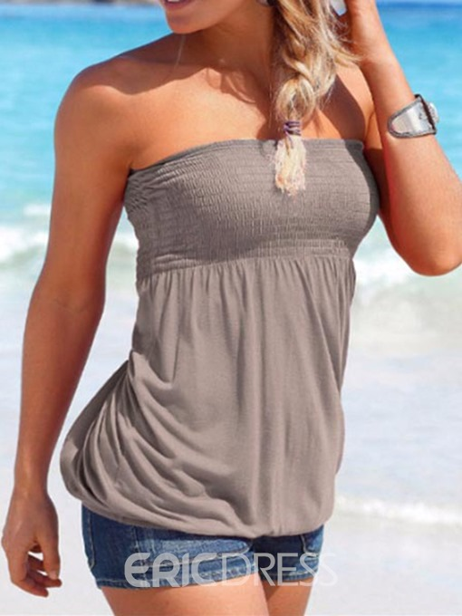 Ericdress Wrapped Chest Bra Summer Tank Top