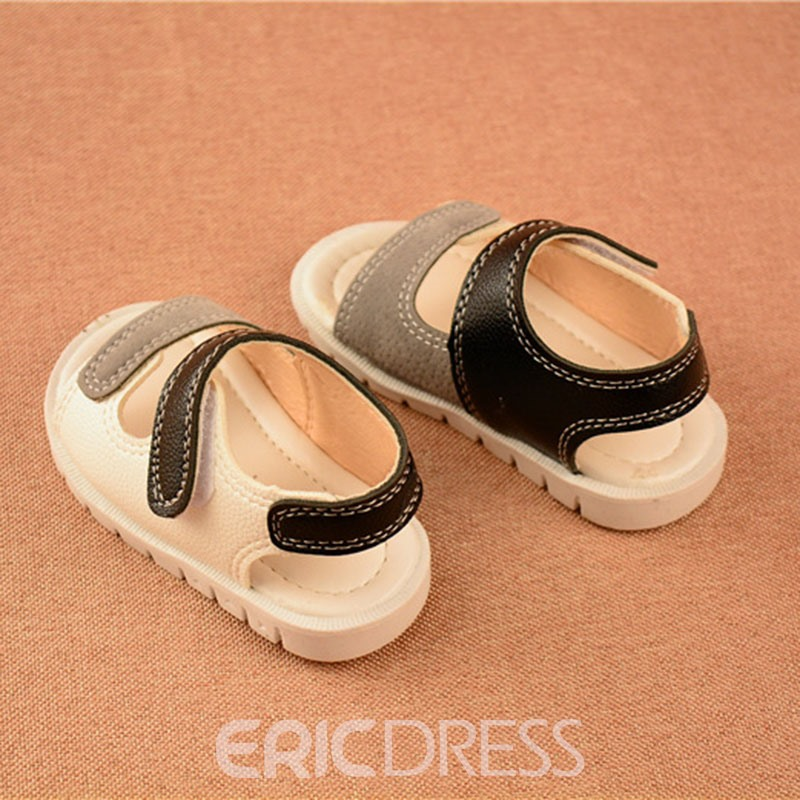 Ericdress Color Block Baby Sandals
