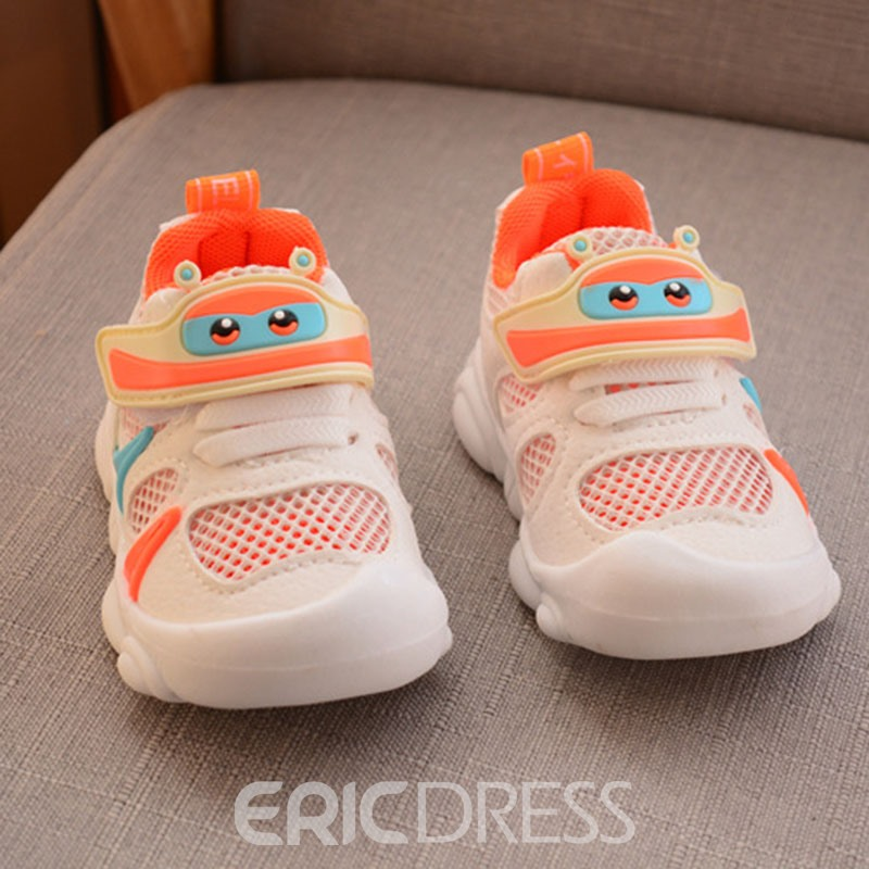 Ericdress Velcro Color Block Baby Shoes