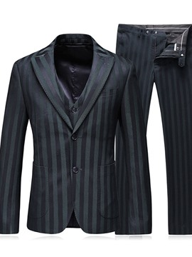 Ericdress Blazer Single-Breasted Fashion Mens Dress Suit