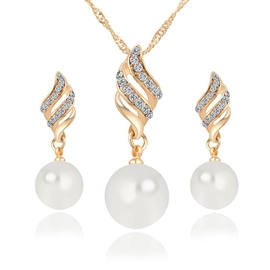 Ericdress Korean Necklace Spherical Jewelry Sets