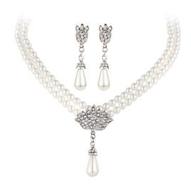 Ericdress Korean Style Water Drop Necklace Jewelry Sets