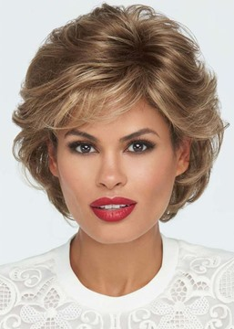 Ericdress Middle Part 120% Density Lace Front Cap Synthetic Hair Wigs 14Inch