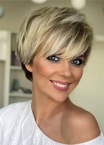 Ericdress Women's Short Bob Style Straight Synthetic Hair Capless Wig 10inch