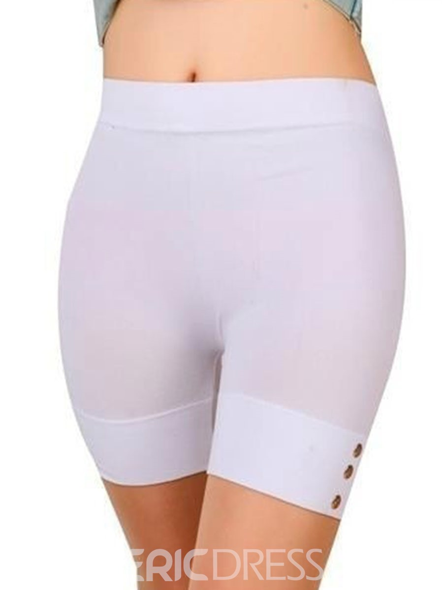Ericdress Women Breathable Solid Summer Shorts Gym Sports Yoga Pants