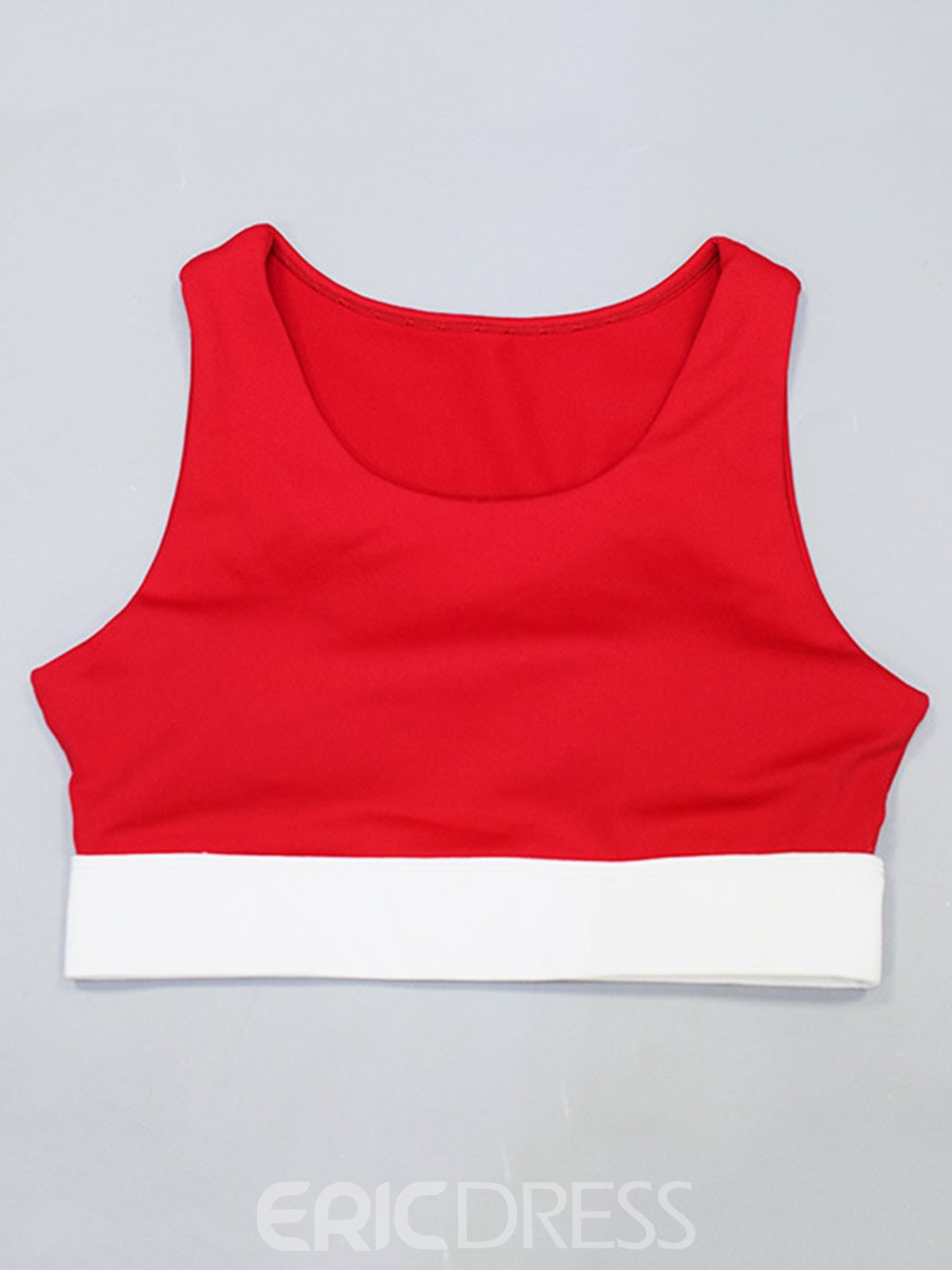 Ericdress Color Block Polyester Ankle Length Running Clothing Sets