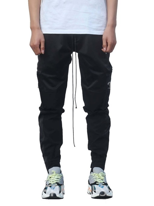 Ericdress Overall Plain Pocket Summer Mens Casual Pants
