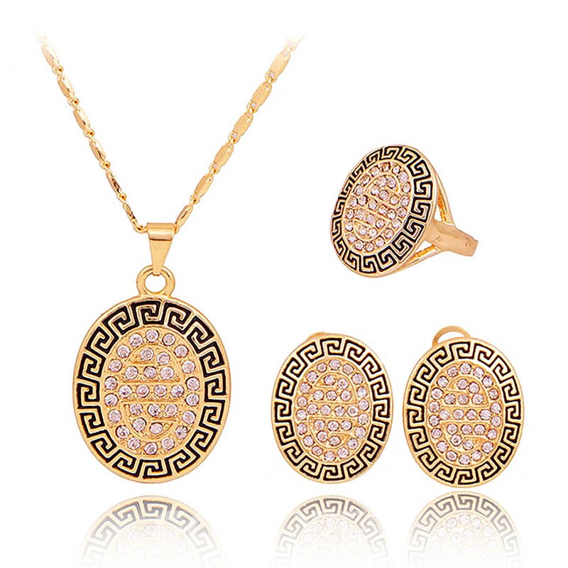 Ericdress Geometric Diamante Middle Eastern Style Jewelry Sets