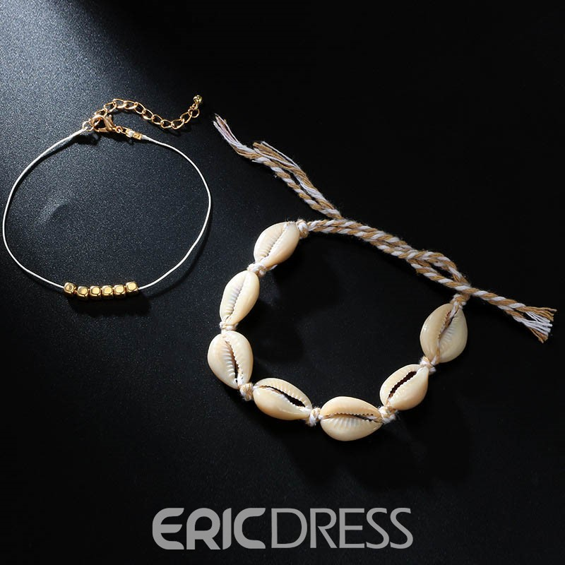 Ericdress Vacation Conch Anklets