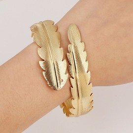 Ericdress Plain Leaf Female Bracelet