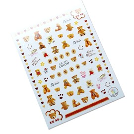 Ericdress Nail Love Flowers Stickers & Decals