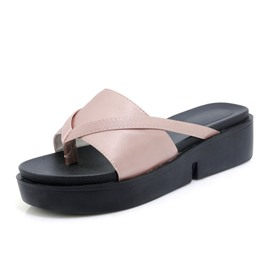 Ericdress Thong Wedge Heel Women's Sandals