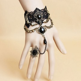 Ericdress Gemmed Female Bracelet