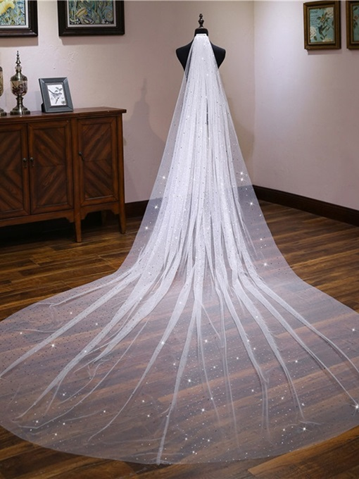 Ericdress Unique Star Wedding Veil 2019